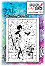 Rubber Dance Unmounted Stamp Set - Dancing Woman